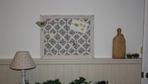 Painted Frame Memo Board