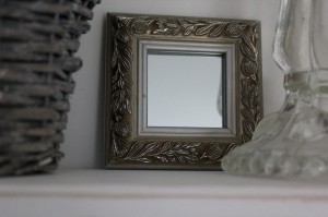 shabby chic mirror 00222