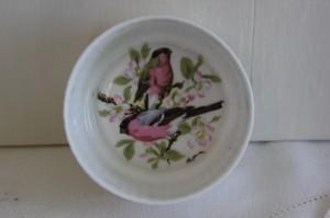 Shabby chic vintage kitchenware birds 00500