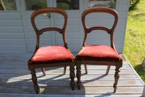 vintage finds - balloon back chairs
