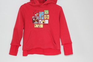 Upcycled child's hoodie
