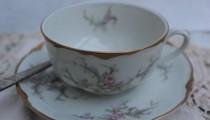 Tea, anyone? Tea cup exchange