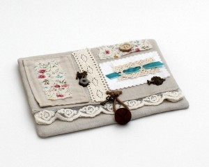 Hand made needle case